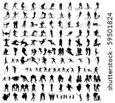 set of hundred sports... | Shutterstock .eps vector #59501824