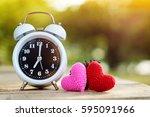 Alarm Clock And Heart Yarn Put...