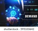 business  technology  internet... | Shutterstock . vector #595103642