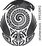 tribal tattoo pattern. fit for...