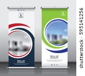 roll up brochure flyer banner...