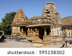 eklingji temple complex ... | Shutterstock . vector #595158302