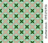 flower seamless pattern.... | Shutterstock . vector #595191956