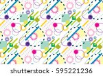 abstract background  with... | Shutterstock .eps vector #595221236