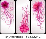 floral backgrounds | Shutterstock .eps vector #59522242