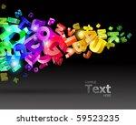 vector illustration with... | Shutterstock .eps vector #59523235