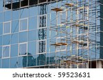 reflection of building designs... | Shutterstock . vector #59523631