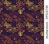 abstract design seamless pattern | Shutterstock . vector #59523730