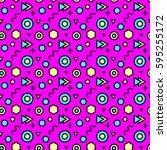 trendy abstract geometric...   Shutterstock .eps vector #595255172