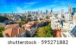 Tel Aviv Skyline In The Day....