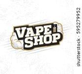 modern vector professional logo ... | Shutterstock .eps vector #595279952
