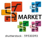 market symbol   the image of... | Shutterstock .eps vector #59530393