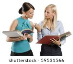 two female girl student in nice ...   Shutterstock . vector #59531566