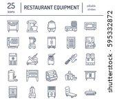 restaurant professional... | Shutterstock .eps vector #595332872