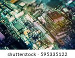 multi exposure semiconductor... | Shutterstock . vector #595335122