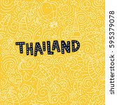 Illustration Of Thailand With...