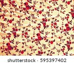 the beautiful of art fabric... | Shutterstock . vector #595397402