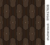 brown and black pattern... | Shutterstock .eps vector #595417838