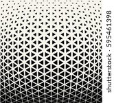 geometric triangle halftone... | Shutterstock .eps vector #595461398