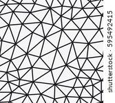 vector seamless pattern... | Shutterstock .eps vector #595492415
