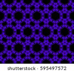 ornamental seamless pattern.... | Shutterstock . vector #595497572