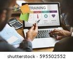 beginner average skilled expert ... | Shutterstock . vector #595502552