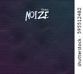 illustration of sound noize...   Shutterstock .eps vector #595512482