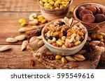 Mix Of Nuts And Dried Fruits O...