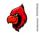 cardinal bird vector icon....
