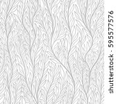 hand drawn pattern with... | Shutterstock .eps vector #595577576