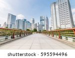 guangzhou  china   oct 6.... | Shutterstock . vector #595594496