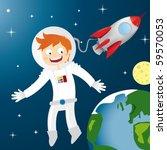 astronauta,grande,azul,respiración,oscuro,casco de buceo,dibujo,tierra,flotante,galáctica,galaxias,felicidad,altura,ilustración,cometa