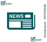 flat design. overview of news...