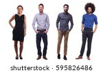 full body group of people | Shutterstock . vector #595826486