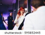The Charming Bride Dancing On...