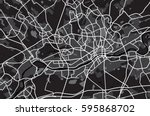 black and white scheme of the... | Shutterstock .eps vector #595868702