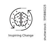 Inspiring Change Vector Line...