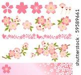 cherry blossom | Shutterstock .eps vector #59589661