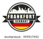 symbol  german city  with... | Shutterstock .eps vector #595917452