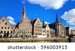 Ghent Medieval City   View Of...