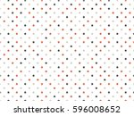 seamless pattern with stars | Shutterstock .eps vector #596008652