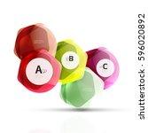 glass modern geometrical...   Shutterstock .eps vector #596020892