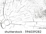 distressed overlay wooden... | Shutterstock .eps vector #596039282