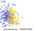 colorful abstract background.... | Shutterstock . vector #596047832
