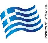 greece | Shutterstock .eps vector #596064446