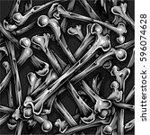 Bones Seamless Pattern