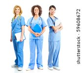 Smiling Medical Doctors With...