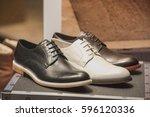 men elegant shoes | Shutterstock . vector #596120336
