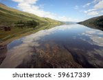 Loch Arkaig On A Calm Summers...