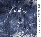 blue abstract grunge texture   Shutterstock . vector #596221742